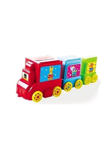 Furkan Toys Furkan Toys 3 in 1 Tır Seti Eğitici ve Geliştirici Oyuncak Renkli